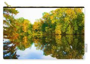 Reflected Autumn Glory Carry-all Pouch