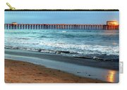 Reflected Sunlight At Pier's End Carry-all Pouch