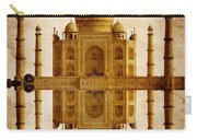 Reflected Taj Mahal Carry-all Pouch