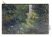 Reflected Tree Carry-all Pouch
