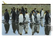 Reflecting King Penguins Carry-all Pouch