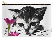 Reflecting Kitten Carry-all Pouch