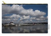 Reflecting On Boats And Clouds - Port Perry Marina Carry-all Pouch