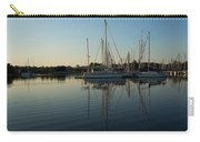 Reflecting On Yachts - Hot Summer Afternoon Mirror Carry-all Pouch