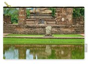 Reflecting Pool At Wat Mahathat In 13th Century Sukhothai Historical Park-thailand Carry-all Pouch