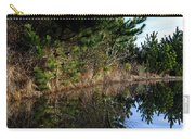 Reflecting Puddle At The Beach Carry-all Pouch