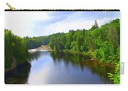 Reflection In Beaupre Quebec Carry-all Pouch