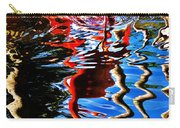 Reflection Of A Flamingo 1 Carry-all Pouch