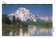 Reflection Of A Mountain Range Carry-all Pouch