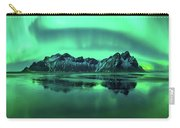 Reflection Of Aurora Borealis Carry-all Pouch