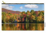 Reflection Of Autumn Trees In A Pond Carry-all Pouch