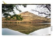 Reflection Of Butte Across From Lepage Rv Park Into Columbia River-oregon Carry-all Pouch