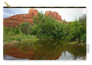 Reflection Of Cathedral Rock Carry-all Pouch