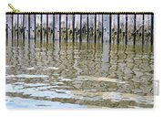 Reflection Of Fence  Carry-all Pouch by Sonali Gangane
