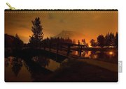 Reflection Of Mountains In Lake, Sunrise Carry-all Pouch