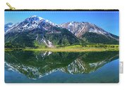 Reflection Of Mountains In Tern Lake Carry-all Pouch