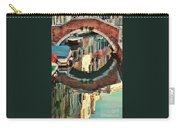 Reflection-venice Italy Carry-all Pouch
