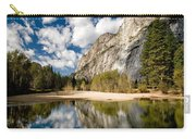 Reflections At Swinging Bridge Carry-all Pouch