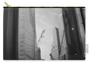 Reflections At The 9/11 Museum In Black And White Carry-all Pouch