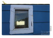 Reflections In A Shed Window - Curiosity - Fishing Carry-all Pouch