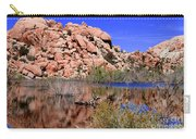 Reflections In Barker Dam By Diana Sainz Carry-all Pouch