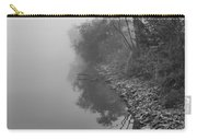 Reflections In Black And White Carry-all Pouch