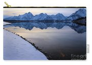 Reflections In Jackson Lake Carry-all Pouch