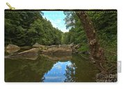 Reflections In Slippery Rock Creek Carry-all Pouch