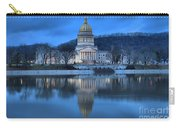 Reflections In The Kanawha River Carry-all Pouch