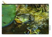 Reflections Of A Bullfrog Carry-all Pouch
