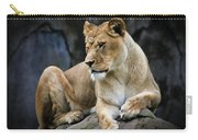 Reflections Of A Lioness Carry-all Pouch