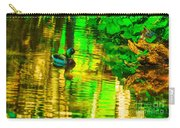 Reflections Of A Mallard Duck Carry-all Pouch