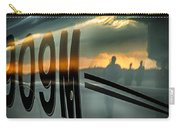 Reflections Of A Sunset Flight Carry-all Pouch