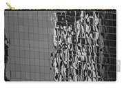 Reflections Of Architecture In Balck And White Carry-all Pouch
