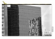 Reflections Of Architecture In Black And White Carry-all Pouch