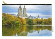 Reflections Of Autumn Central Park Lake  Carry-all Pouch