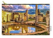 Reflections Of Past Glory Carry-all Pouch