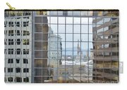 Reflections Of The Capitol Building In Denver Colorado Carry-all Pouch