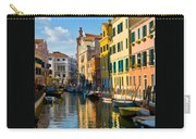 Reflections Of Venice II Carry-all Pouch