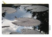 Reflections On A Lily Pond Monet Carry-all Pouch