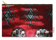 Reflections On A Persian Rug Carry-all Pouch