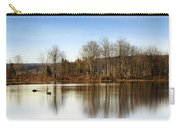 Reflections On Golden Pond Carry-all Pouch by Christina Rollo