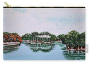 Reflections On Lal Bagh Lake Carry-all Pouch