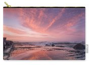 Reflections On North Jetty Dusk Carry-all Pouch