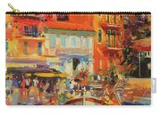 Reflections - Villefranche Carry-all Pouch by Peter Graham