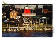 Reflections..two Rivers Pierhead Lighthouse Carry-all Pouch