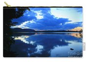 Reflective Blues On Lake Umbagog  Carry-all Pouch
