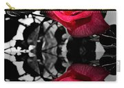 Reflective Red Rose Carry-all Pouch