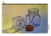 Reflective Still Life Jars Carry-all Pouch by Brenda Brown