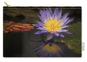 Reflective Water Lily Still Life Carry-all Pouch